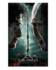 Ímã Decorativo Pôster Harry Potter 8 - IPF126