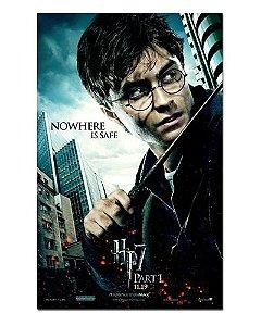 Ímã Decorativo Pôster Harry Potter 7 - IPF300