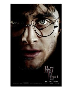 Ímã Decorativo Pôster Harry Potter 7 - IPF304