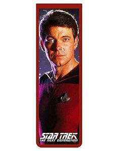 Marcador De Página Magnético Riker - Star Trek - MFI227