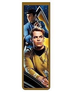 Marcador De Página Magnético Kirk e Spock - Star Trek - MFI233