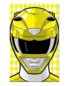 Ímã Decorativo Ranger Amarelo - Power Rangers - ITOK02