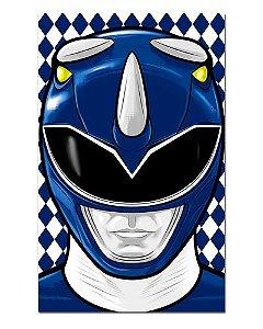 Ímã Decorativo Ranger Azul - Power Rangers - ITOK04