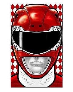 Ímã Decorativo Ranger Vermelho - Power Rangers - ITOK07