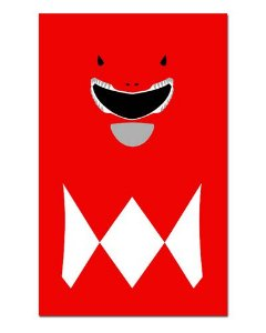 Ímã Decorativo Ranger Vermelho - Power Rangers - ITOK08