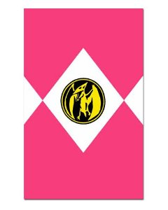Ímã Decorativo Ranger Rosa - Power Rangers - ITOK18