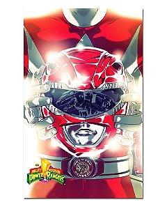 Ímã Decorativo Ranger Vermelho - Power Rangers - ITOK22
