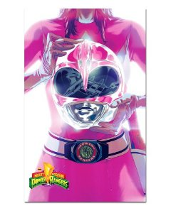 Ímã Decorativo Ranger Rosa - Power Rangers - ITOK23