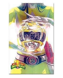 Ímã Decorativo Ranger Amarelo - Power Rangers - ITOK24