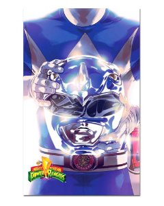 Ímã Decorativo Ranger Azul - Power Rangers - ITOK26