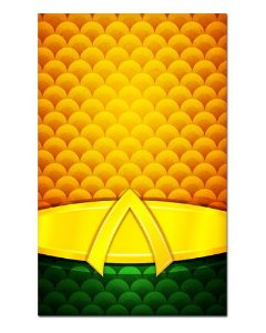Ímã Decorativo Aquaman - DC Comics - IQD55