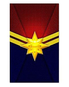 Ímã Decorativo Capitã Marvel - Marvel Comics - IQM39