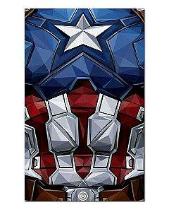 Ímã Decorativo Capitão América - Marvel Comics - IQM46