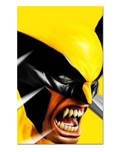 Ímã Decorativo Wolverine - Marvel Comics - IQM54