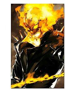 Ímã Decorativo Ghost Rider - Marvel Comics - IQM79