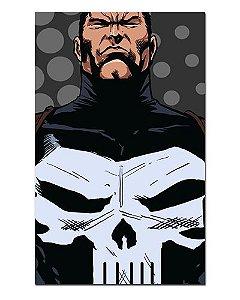 Ímã Decorativo Justiceiro - Marvel Comics - IQM66