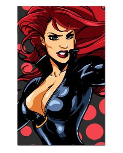 Ímã Decorativo Black Widow - Marvel Comics - IQM67