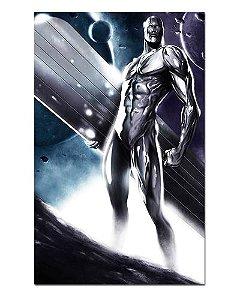 Ímã Decorativo Surfista Prateado - Marvel Comics - IQM76