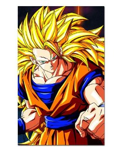 Ímã Decorativo Goku SSJ3 - Dragon Ball - IDBZ01