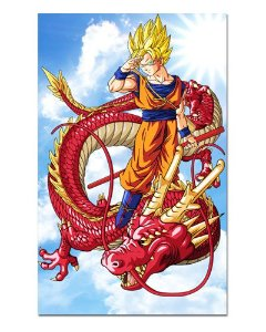 Ímã Decorativo Goku SSJ Red Dragon - Dragon Ball - IDBZ02