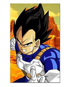 Ímã Decorativo Vegeta - Dragon Ball - IDBZ06