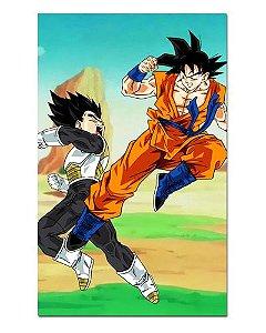 Ímã Decorativo Goku vs Vegeta - Dragon Ball - IDBZ11