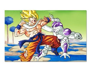 Ímã Decorativo Goku vs Freeza - Dragon Ball - IDBZ14
