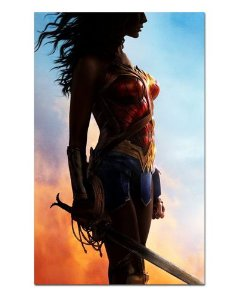 Ímã Decorativo Mulher-Maravilha - DC Comics - IQD86