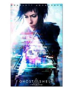 Ímã Decorativo Pôster Ghost in The Shell - IPF19