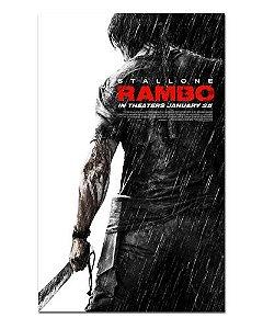 Ímã Decorativo Pôster Rambo IV - IPF45