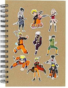 Adesivos Naruto Set A - 9 unid