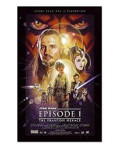 Ímã Decorativo Pôster Star Wars A Ameaça Fantasma - IPF558