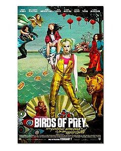 Ímã Decorativo Pôster Birds of Prey - IPF591