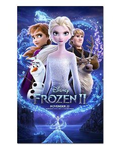 Ímã Decorativo Pôster Frozen 2 - IPF614