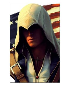 Ímã Decorativo Connor - Assassin's Creed - IAC08