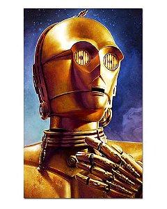 Ímã Decorativo C-3PO - Star Wars - ISW44