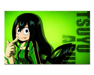 Ímã Decorativo Tsuyu Asui - My Hero Academia - IMHA44