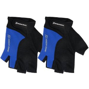 Luva High One Liberty para Ciclismo P Preto/Azul