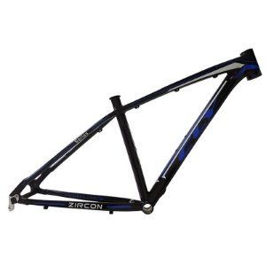 Quadro Bicicleta Cly Zircon 27.5x19 em Alumínio Preto/Azul