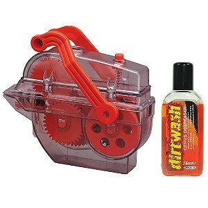 Kit de Limpeza Dirtwash e lavador - Weldtite para Limpeza e Desengraxe de Correntes