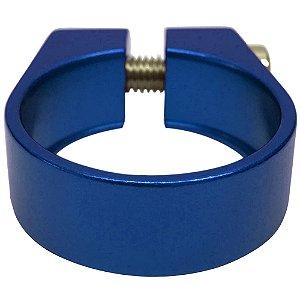 Abraçadeira de Selim Cly Components 31.8mm em Alumínio Azul