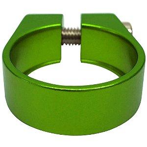 Abraçadeira de Selim Cly Components 31.8mm em Alumínio Verde