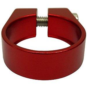 Abraçadeira de Selim Cly Components 34.9mm em Alumínio Vermelho