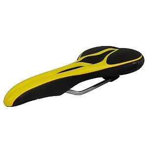Selim Velo Senso Sport Preto/Amarelo