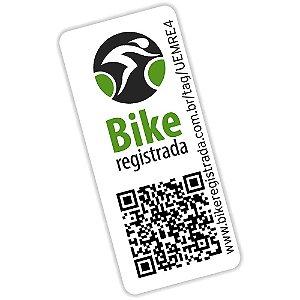 Selo Bike Registrada Proteja sua Bike