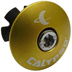 Tampa de Movimento de Direção Calypso em Alumínio Amarelo