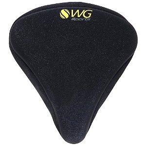 Capa de Selim WG Sports Gel Grande Preto