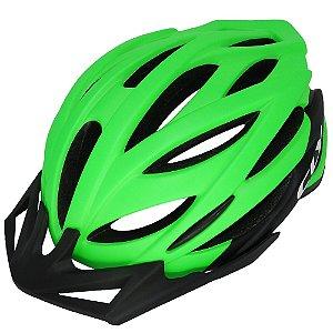 Capacete Cly In Mold MTB/Urbano para Ciclismo M Preto/Verde