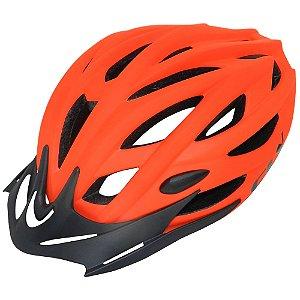 Capacete Cly Out Mold MTB/Urbano para Ciclismo M Laranja