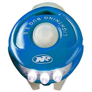 Pisca NiteRider para Bicicleta Dianteiro Vista Light Bug 3.0 Azul